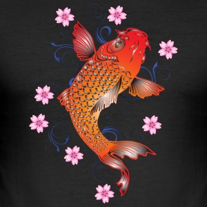 koi karper - Herre Slim Fit T-Shirt