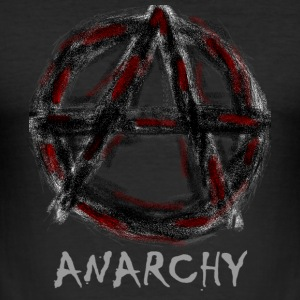 Anarchy - Herre Slim Fit T-Shirt