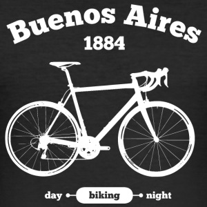 Bicycle Buenos Aires - Men's Slim Fit T-Shirt