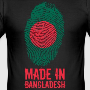 Made In Bangladesh / Bangladesch / বাংলাদেশ - Männer Slim Fit T-Shirt