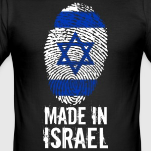 Made in Israel / Made in Israel מדינת ישראל - Maglietta aderente da uomo