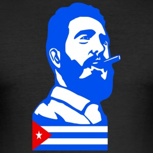 Fidel Castro Cuba - Men's Slim Fit T-Shirt