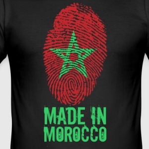 Made in Marocko / gjort i Marocko المغرب - Slim Fit T-shirt herr