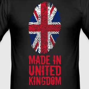 Made in Storbritannia / Storbritannia - Slim Fit T-skjorte for menn