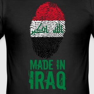 Made in Iraq / Gemacht in Irak العراق - Männer Slim Fit T-Shirt