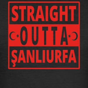 Straight Outta S ANL urfa Tyrkia - Slim Fit T-skjorte for menn