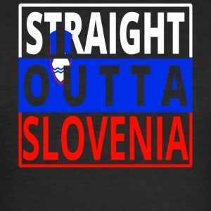 Straight outta SLOVENIA Slovenia - Men's Slim Fit T-Shirt