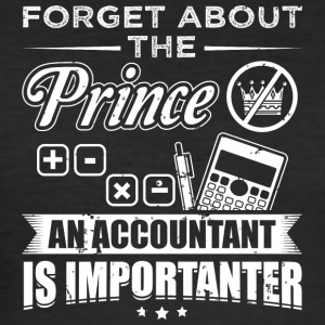 Accountant FORGET PRINCE - Men's Slim Fit T-Shirt