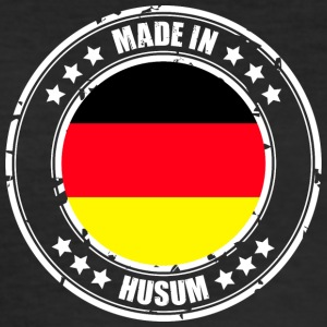 HUSUM - Männer Slim Fit T-Shirt
