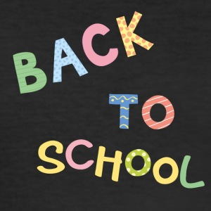 back to school - Männer Slim Fit T-Shirt