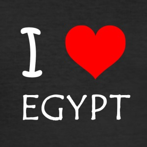 I Love Egypten - Herre Slim Fit T-Shirt