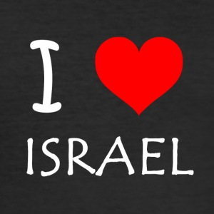 I Love Israel - Men's Slim Fit T-Shirt