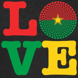 Burkina Faso hart - slim fit T-shirt