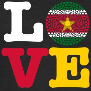 SURINAM HEART - Herre Slim Fit T-Shirt