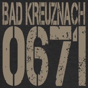 BAD KREUZNACH - Männer Slim Fit T-Shirt