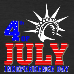 4th of July 2017 Independence day - Men's Slim Fit T-Shirt