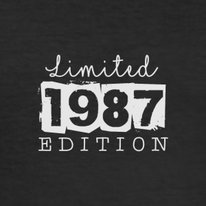 LIMITED EDITION - 1987 - Männer Slim Fit T-Shirt