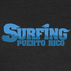 PUERTO RICO Surfing Water Country - Slim Fit T-skjorte for menn