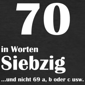 70 in Worten - Männer Slim Fit T-Shirt