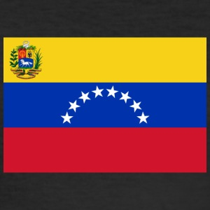 National Flag Of Venezuela - Men's Slim Fit T-Shirt