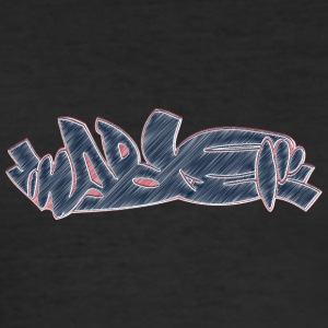 Cool street art graffiti - slim fit T-shirt
