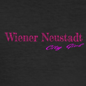 Wiener_Neustadt - Slim Fit T-skjorte for menn