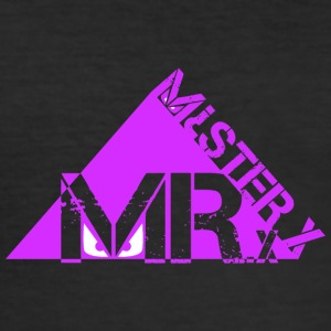 MR X-purple - Men's Slim Fit T-Shirt