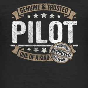 Pilot Premium Quality Approved - slim fit T-shirt