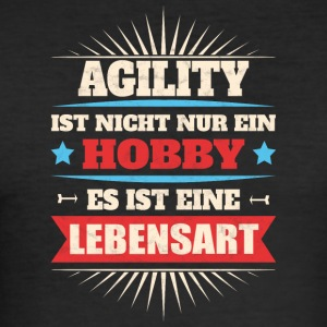 Agility - Männer Slim Fit T-Shirt