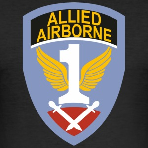 First Allied Airborne Army - slim fit T-shirt
