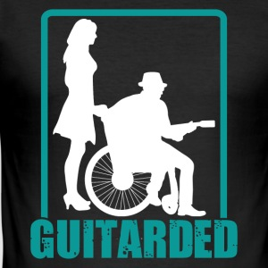 Guitarded - Herre Slim Fit T-Shirt