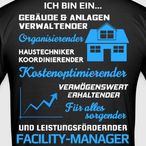 Facility-Manager/Facility-Management/Haustechniker - Männer Slim Fit T-Shirt