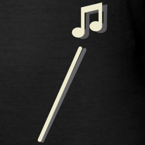 Shoot music note - Men's Slim Fit T-Shirt