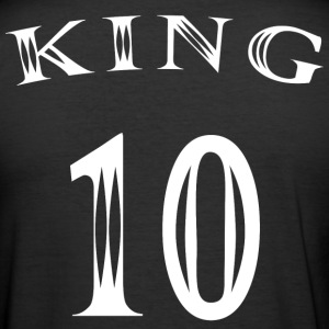 King Number 10 - Men's Slim Fit T-Shirt