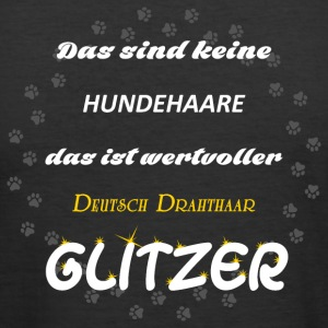 Deutsch Drahthaar Glitzer - Männer Slim Fit T-Shirt
