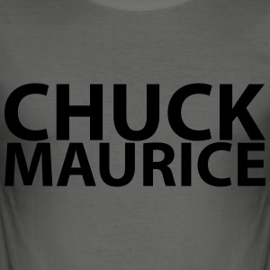 chuck maurice - Men's Slim Fit T-Shirt