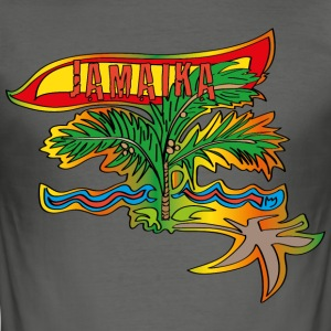 Jamaica - Slim Fit T-shirt herr