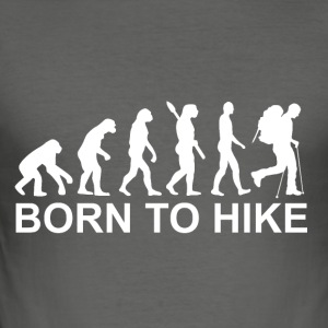 Born to hike - Men's Slim Fit T-Shirt