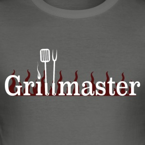 Grillmaster - Slim Fit T-shirt herr