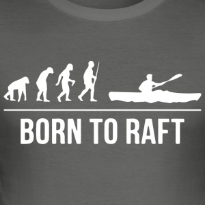 Rafting Kanu T-Shirt - Männer Slim Fit T-Shirt
