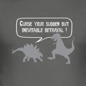 Curse your betrayal! - Men's Slim Fit T-Shirt