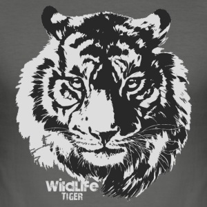 Wildlife · Tiger - Slim Fit T-skjorte for menn