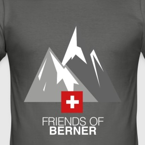 Over the Mountains 2,0 - Herre Slim Fit T-Shirt