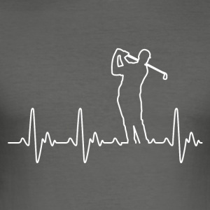 Heart of Golf - Men's Slim Fit T-Shirt