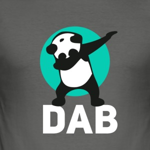 dab panda touchdown Football crass Music LOL funny - Men's Slim Fit T-Shirt