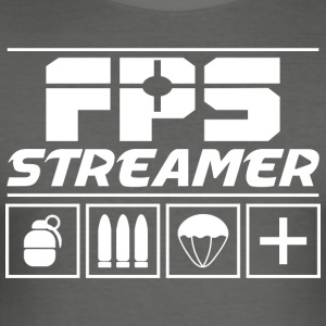 FPS Streamer - Slim Fit T-shirt herr
