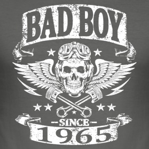Bad boy since 1965 - Tee shirt près du corps Homme