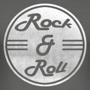 Rock & Roll - Slim Fit T-skjorte for menn
