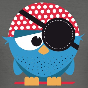 Birdie pirate - Men's Slim Fit T-Shirt