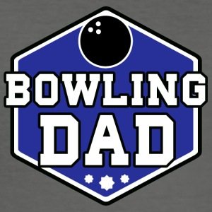 Bowling Dad - Men's Slim Fit T-Shirt